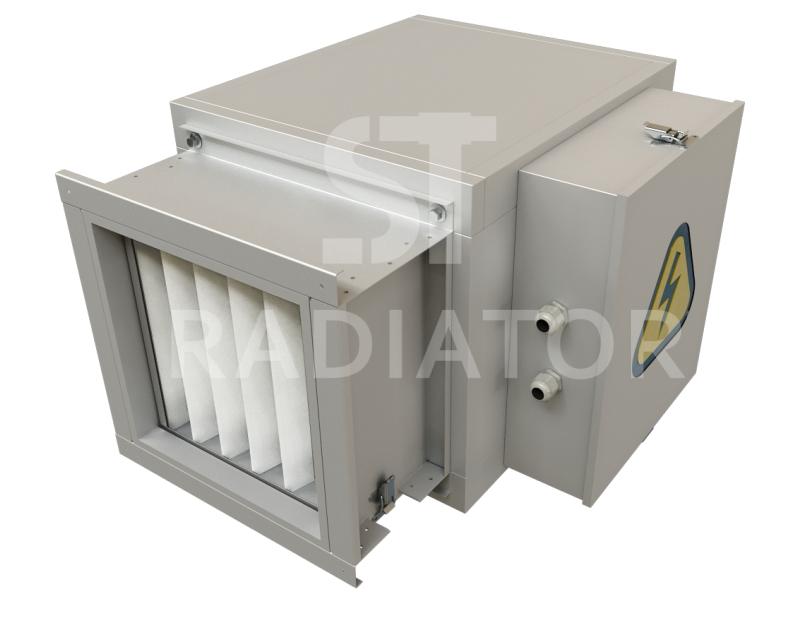Компактная приточная установка серии MCU-EC